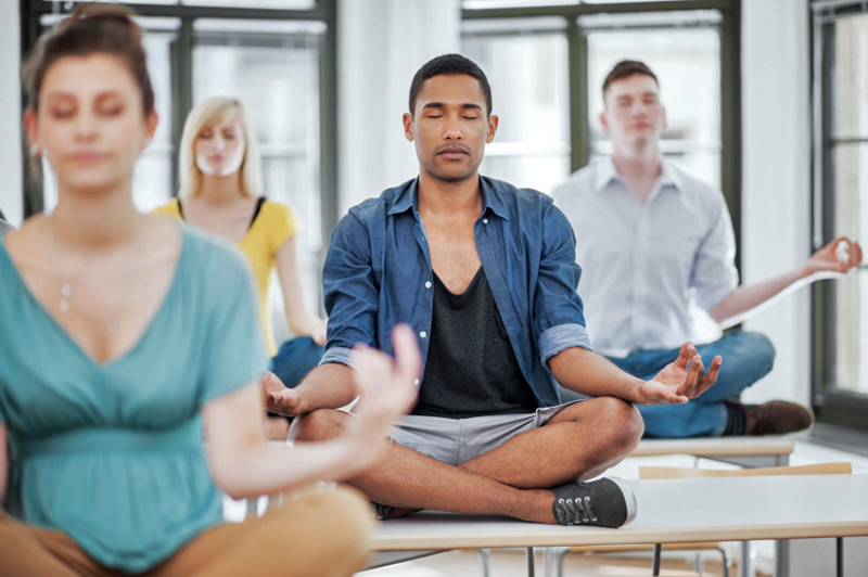 silent journey Transcendental Meditation Goes to College Meditation as a College Curriculum